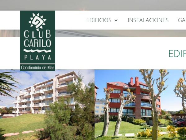 Club cariló playa